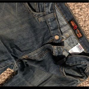 Size 34x34 Ariat FR Jeans